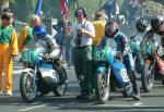 Decca Kelly (number 92) at Start Line, Douglas.