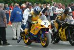 Carl Rennie at the TT Grandstand.