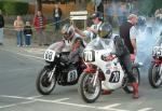 David Smith (88) at the Practice Start Line, Douglas.
