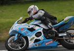 Fabrice Miguet at Signpost Corner, Onchan.