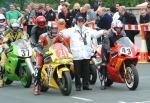 Philip Gilder (number 21) at Start Line, Douglas.