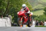 Guy Martin at Ballaugh Bridge.
