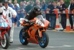 Ian Armstrong at the TT Grandstand.