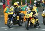 John Killeen (number 113) at Start Line, Douglas.
