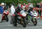 Nick Turner at the TT Grandstand.