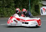 Conrad Harrison/Kris Hibberd at Braddan Bridge.