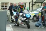 Rodger Wibberley at Ballaugh Bridge.