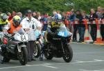 Duncan Baillie at the TT Grandstand.