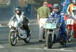 Ewan Hamilton (number 107) at Start Line, Douglas.