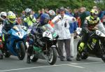 Chris Palmer at the TT Grandstand.