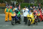 Liam McAleer (73) at the Start Line, Douglas.