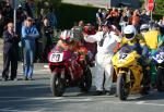 Wade Boyd (80) at the TT Grandstand, Douglas.