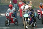 Roy Gillard (number 54) at Start line, Douglas.